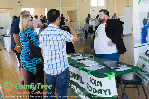 ComfyTree CannaBazaar career fair