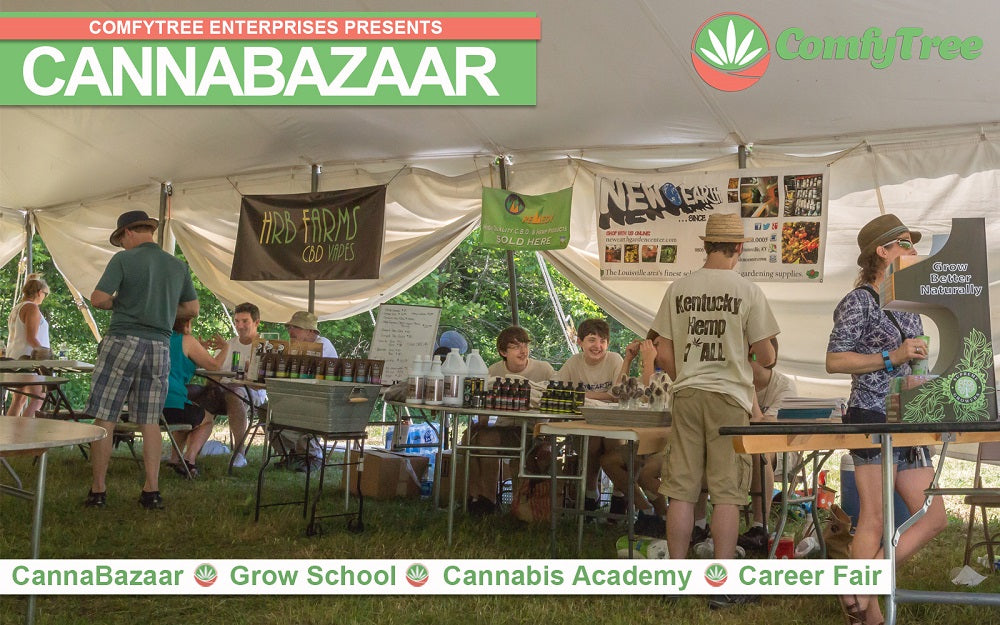 comfytree cannabis academy cannabazaar expo and career fair