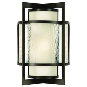 "Singapore Moderne Outdoor 24""H Outdoor Wall Sconce #818281ST"