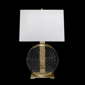 "Crystal Lamps 25.8""H Table Lamp #906010ST"