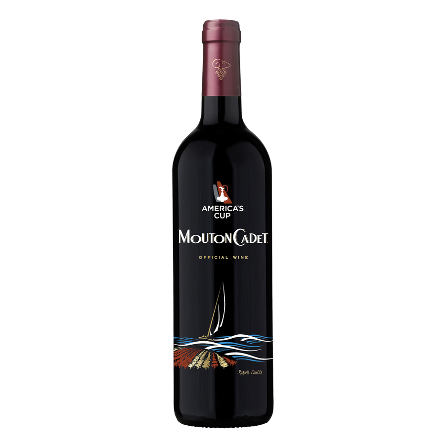 Mouton Cadet Bordeaux Special Vintage Red x America's Cup Limited Edition