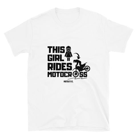 This Girl Rides Short-Sleeve T-Shirt (Unisex)