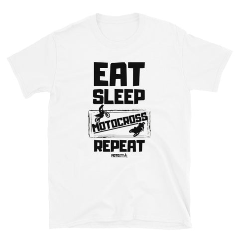 Eat Sleep Short-Sleeve T-Shirt (Unisex)