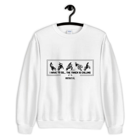Track Is Calling Crewneck Sweatshirt (Unisex)