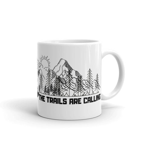 Trails Are Calling Mug