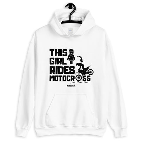 This Girl Rides Hoodie (Unisex)