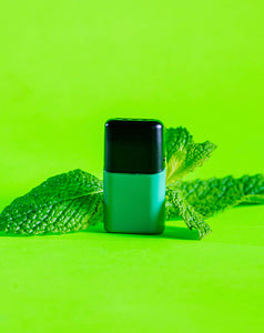 LUU nicotine free juice mint pod with mint