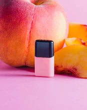 Load image into Gallery viewer, LUU nicotine free juice peach pod with peaches