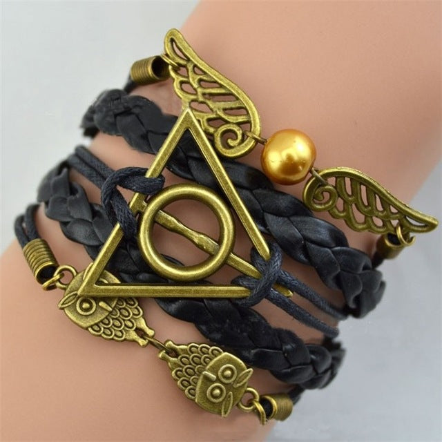 Deathly Hallows Armband Set