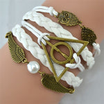 Laden Sie das Bild in den Galerie-Viewer, Deathly Hallows Armband Set