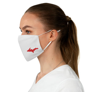 Upper Peninsula Face Mask - Red