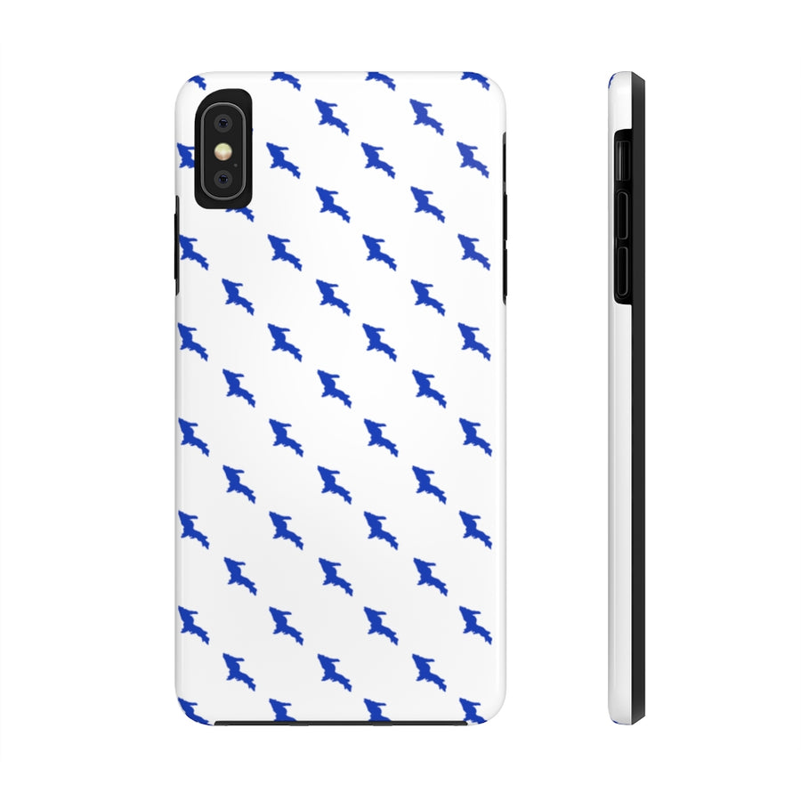 Case Mate Tough Case - Blue UP Houndstooth