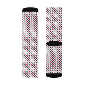 America UP Houndstooth Socks