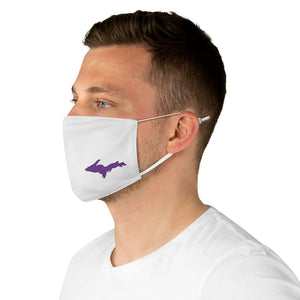 Upper Peninsula Face Mask - Purple