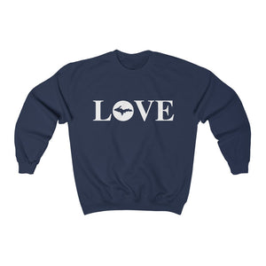 Love Crew Neck - White