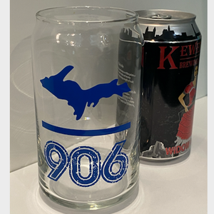 UP - 906 16oz Can Glass