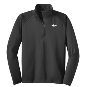 Classic UP 1/2-Zip - Mens - Charcoal Grey
