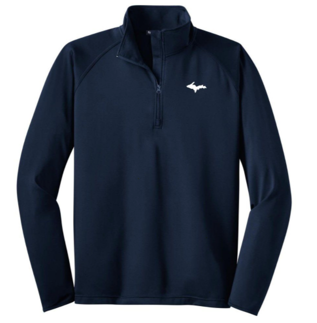 Classic UP 1/2-Zip - Mens - Navy