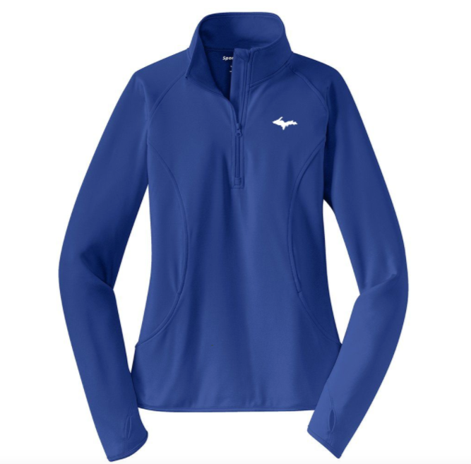 Classic UP 1/2-Zip - Womens - Royal