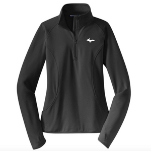 Classic UP 1/2-Zip - Womens - Charcoal Grey