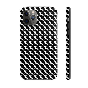 Case Mate Tough Case - White UP Compact Houndstooth