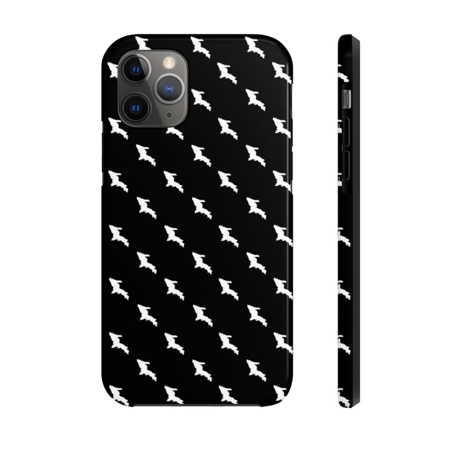 Case Mate Tough Case - White UP Houndstooth