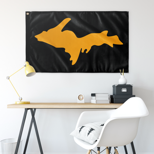 UP Silhouette - Gold on Black