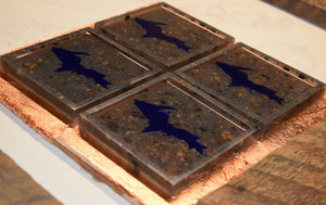 UP Coasters - Resin with Lake Superior Stones