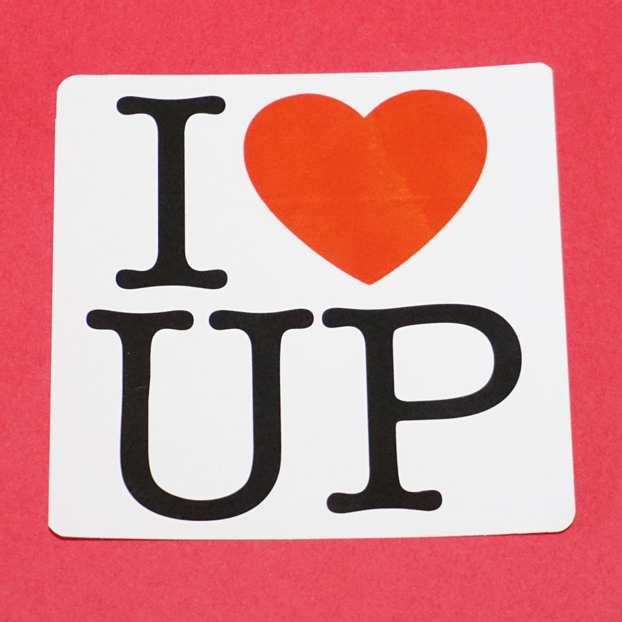 I Love the UP Vinyl Sticker