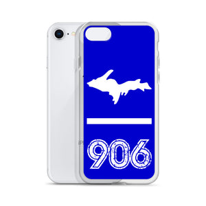 iPhone Case : Royal Blue & White