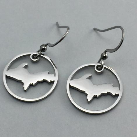 UP Circle Earrings