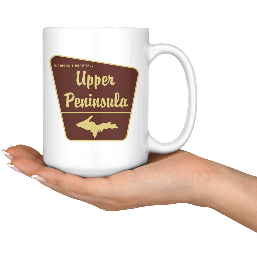 UP NATIONAL FOREST COFFEE MUG
