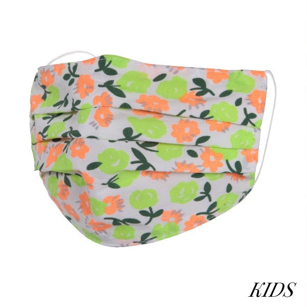 Face Masks - Solid & Floral Prints