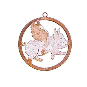 Metal Ring Flying Pig
