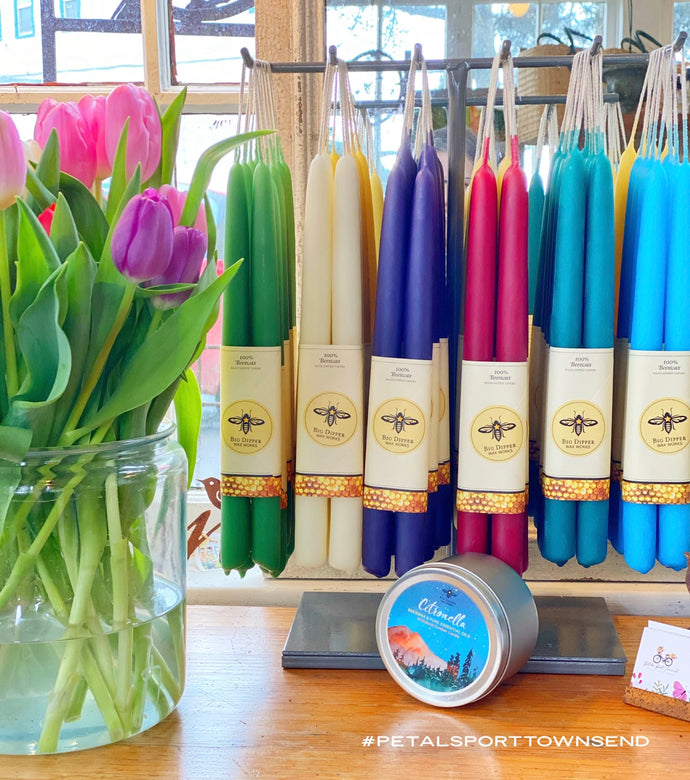 Candles Beeswax Taper