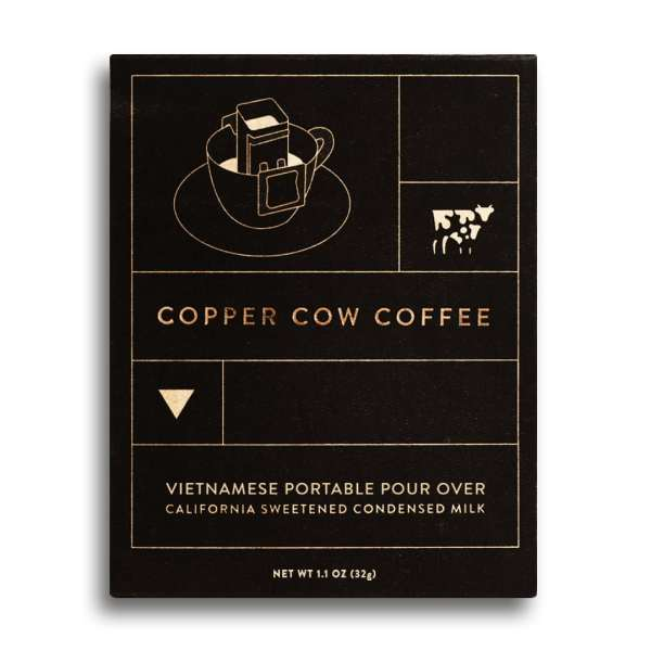 Copper Cow Portable Pour Over Coffee