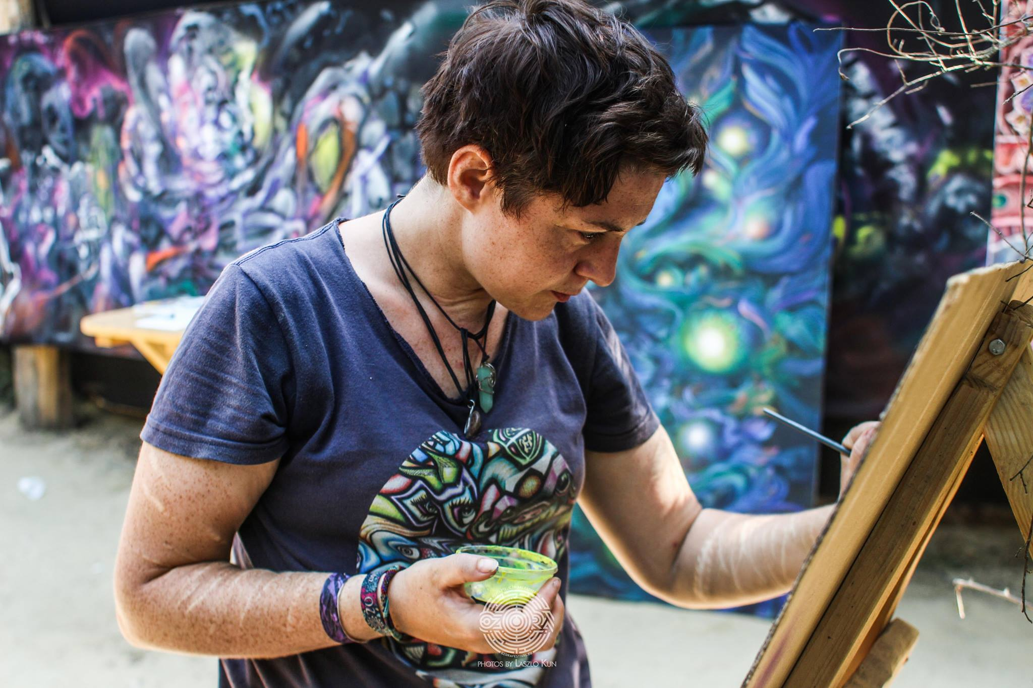 Live Painting at Ozora Festival 2017