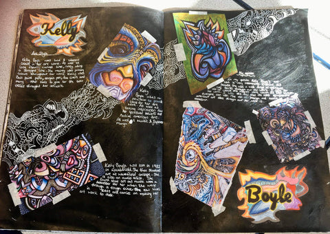 Inspiring Year 9 students project work at Cathedral School Llandaff