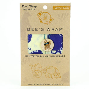 Bee's wrap lunch 3 pack