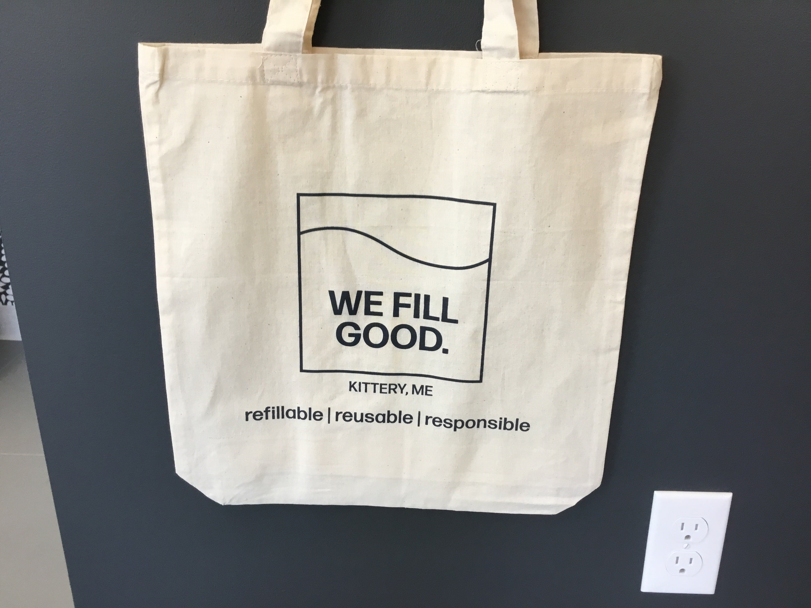 WE FILL GOOD Tote Bag