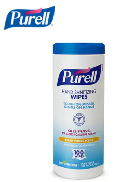 PURELL Sani-Wipe® Hand Sanitizing Wipes (Pack of 12) 9111-12