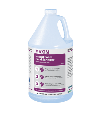 Maxim Instant Foam Hand Sanitizer (4-1 Gals/cs)