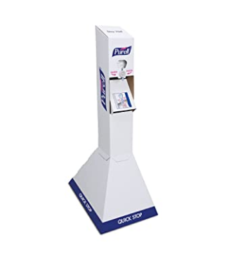 Purell Hand Sanitizer Quick Floor Stand Kit with Refills
