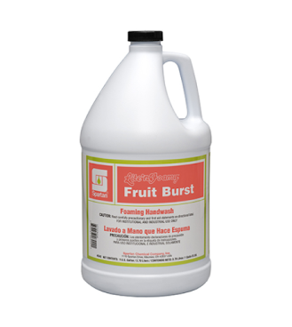 Spartan Lite'n Foamy Fruit Burst Soap (4-1gal/cs)
