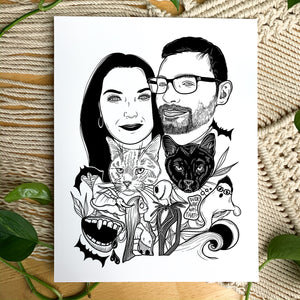 Custom Halloween Portrait