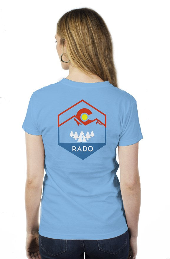 ColoRADO Womens T-shirt