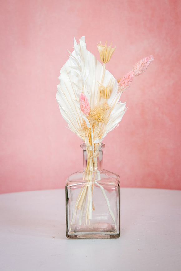 Everlasting Bud Vase Neutral Florals