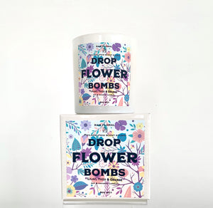 Philadelphia Scents Studio x RAM Floral Drop Flower Bombs Candle