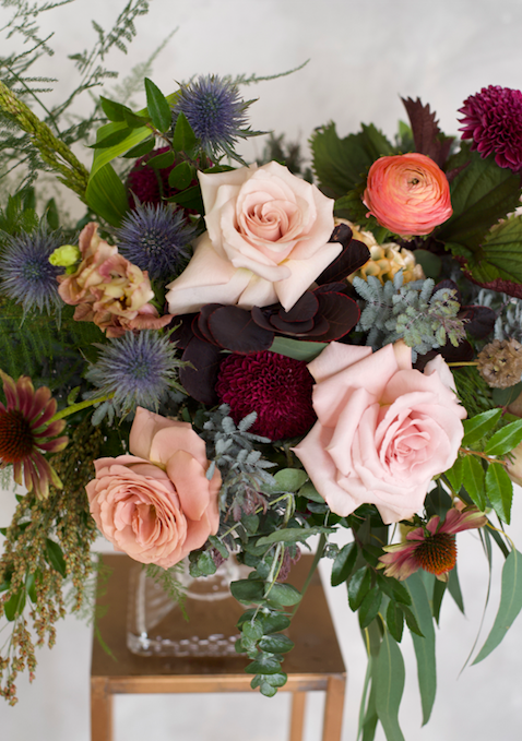 Holiday Pre-Order for a 5 Week Flower Advent Subscription