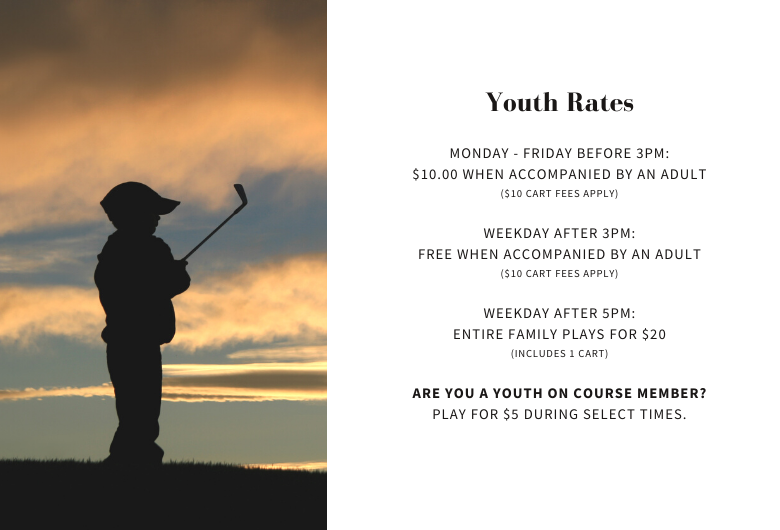 Youth Rates: Foxchase Golf Club, Public Golf Course in Lancaster County